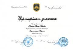 """Участь у семінарі-практикумі """"Судова реформа в Українї"""""""